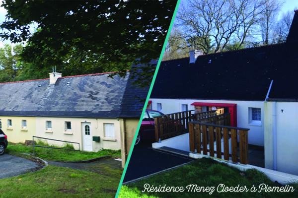 Finistère Habitat réhabilite des pavillons électriques pour une meilleure performance énergétique et un meilleur confort !