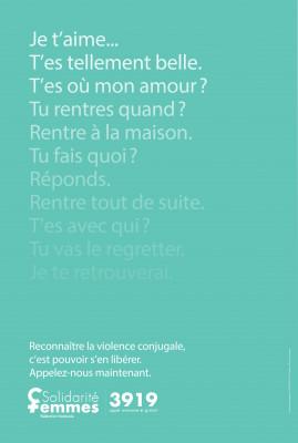 3919, le numéro d'écoute national destiné aux femmes victimes de violences.