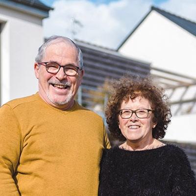 Geneviève et Philippe Clivet